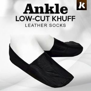 Ankle Low-cut Khuff Leather Socks