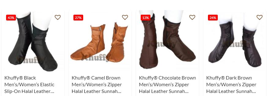 halal leather khuff